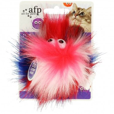 AFP Furry Ball Fluffy Ball Pink