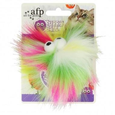 AFP Furry Ball Fluffy Ball Yellow