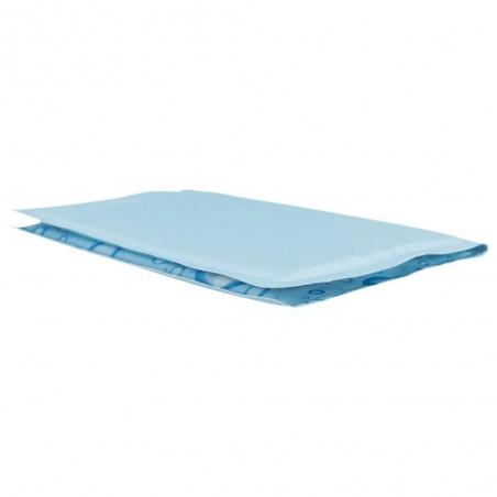 Koelmat Lichtblauw 65 x 50 cm