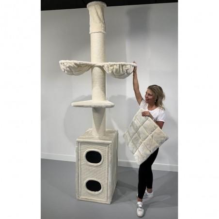 Cat Tower Box Creme