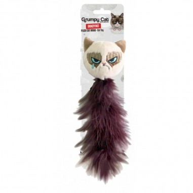 Grumpy Cat Feather Tail