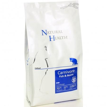 Natural Health Carnivore Fish & Beans 2,5 kg
