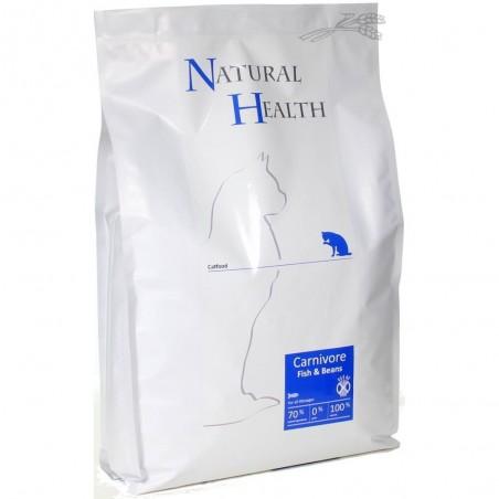 Natural Health Carnivore Fish & Beans 7,5 kg
