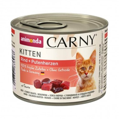 Animonda Carny Kitten Rund & Kalkoen 6 x 200 gram