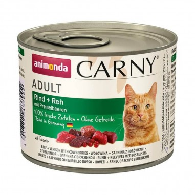 Animonda Carny Rund, Ree & Bosbessen 6 x 200 gram