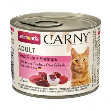 Animonda Carny Rund, Kalkoen & Garnaal 6 x 200 gram