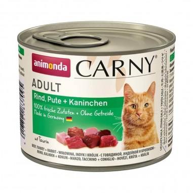 Animonda Carny Rund, Kalkoen & Konijn 6 x 200 gram