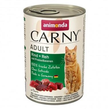 Animonda Carny Rund, Ree & Bosbessen 6 x 400 gram