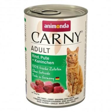 Animonda Carny Rund, Kalkoen & Konijn 6 x 400 gram