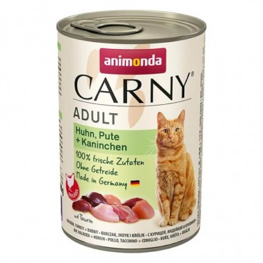 Animonda Carny Kip, Kalkoen & Konijn 6 x 400 gram