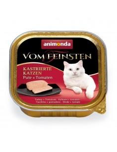 Animonda Vom Feinsten Gecastreerde Katten Kalkoen & Tomaten 32 x 100 gram