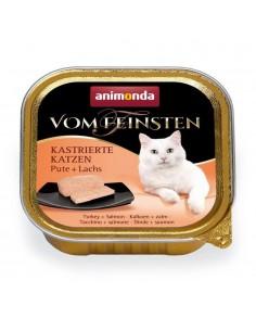 Animonda Vom Feinsten Gecastreerde Katten Kalkoen & Zalm 32 x 100 gram