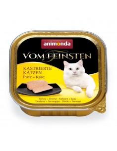 Animonda Vom Feinsten Gecastreerde Katten Kalkoen & Kaas 32 x 100 gram