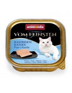 Animonda Vom Feinsten Gecastreerde Katten Kalkoen & Forel 32 x 100 gram