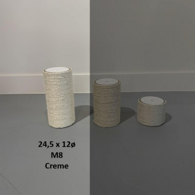 RHRQuality Sisalpaal Ø 12 x 24,5 cm M8