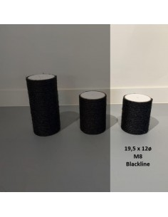 RHRQuality Sisalpaal Blackline Ø 12 x 19,5 cm M8