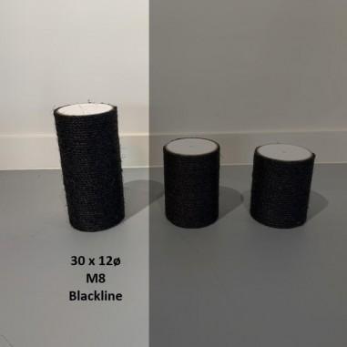 RHRQuality Sisalpaal Blackline Ø 12 x 30 cm M8