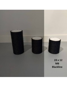 RHRQuality Sisalpaal Blackline Ø 12 x 24 cm M8
