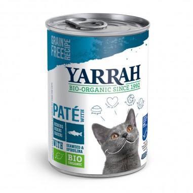 Yarrah Biologische Pate met Vis 12 x 400 gram