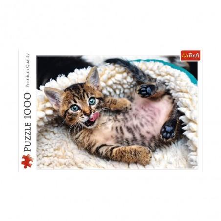 Trefl Puzzel Cheerful Kitten
