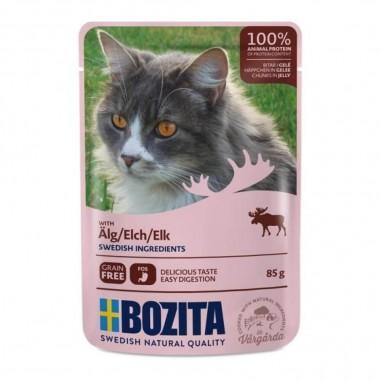 Bozita Feline Pouch Brokjes in gelei Eland 12 x 85 gram
