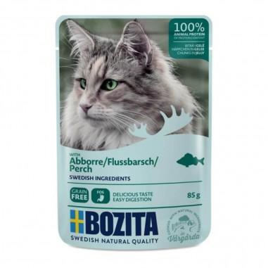 Bozita Feline Pouch Brokjes in gelei Baars 12 x 85 gram
