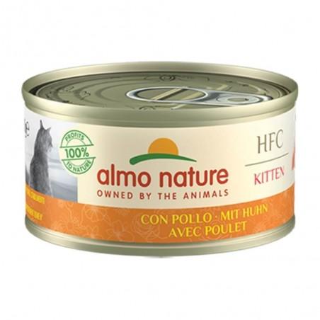 Almo Nature HFC Kitten met Kip 24 x 70 gram