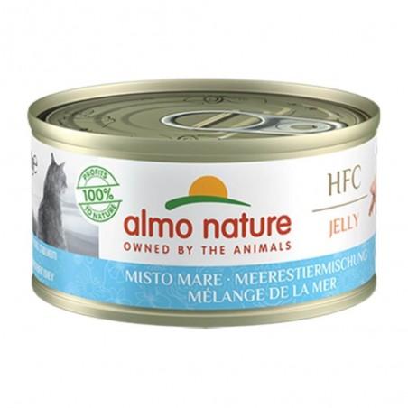 Almo Nature HFC Jelly Gemengde Zeevis 24 x 70 gram