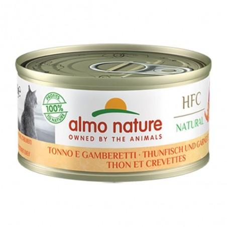 Almo Nature HFC Natural Tonijn & Garnalen 24 x 70 gram