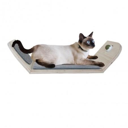 AFP Skywalk Scratcher Lounge Bed With Catnip Ball