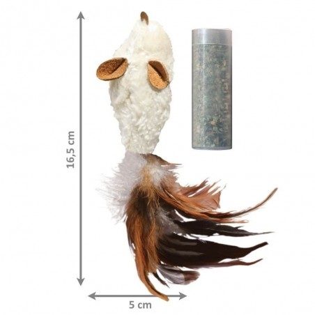 KONG Refillable Feather Mouse