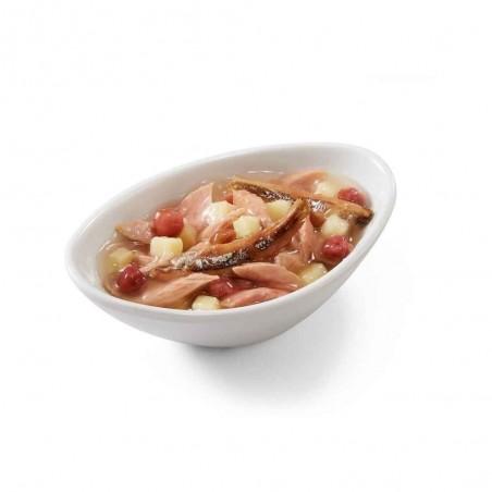 Schesir Salad Poke Tonijn met Ansjovis, Zoete Aardappel en Cranberry 14 x 85 gram