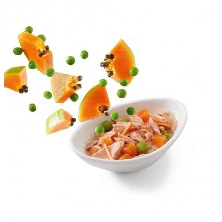 Schesir Salad Poke Tonijn met Surimi, Papaja en Doperwten 14 x 85 gram