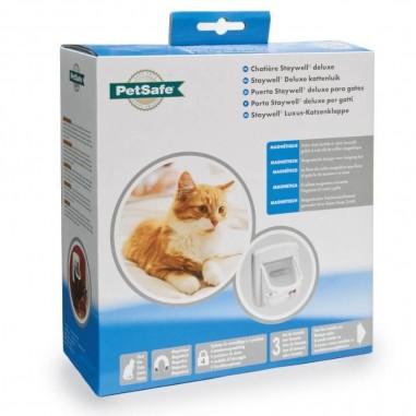 Petsafe 400 Staywell DeLuxe Magnetisch Kattenluik met Tunnel