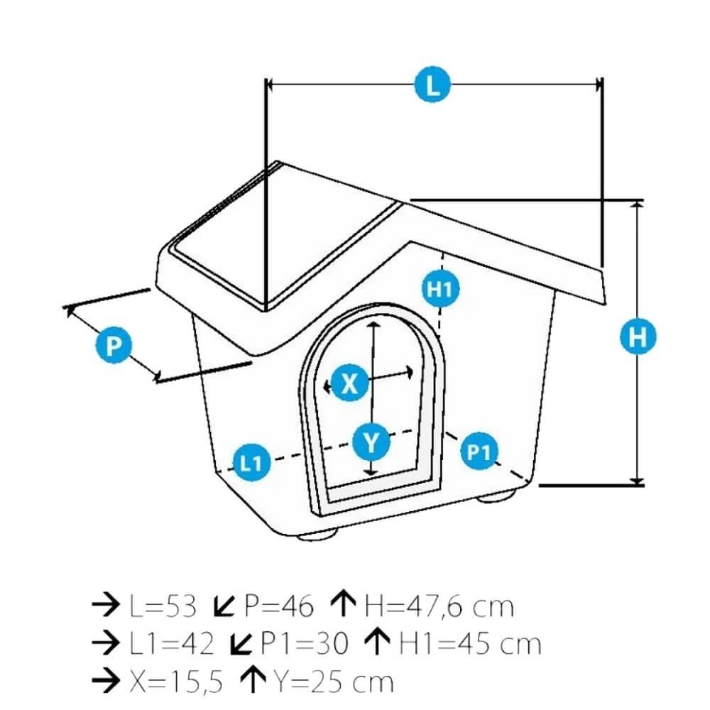 Mintgroen Accessoires Huis.Imac Huis Zeus 50 Mintgroen