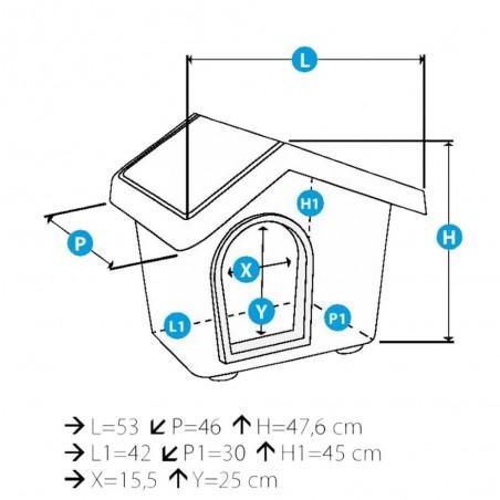 Imac Huis Zeus 50 Lichtblauw