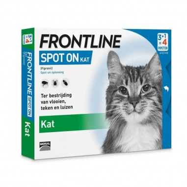 Frontline Spot On Kat 4 Pipetten