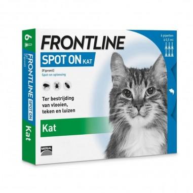 Frontline Spot On Kat 6 Pipetten