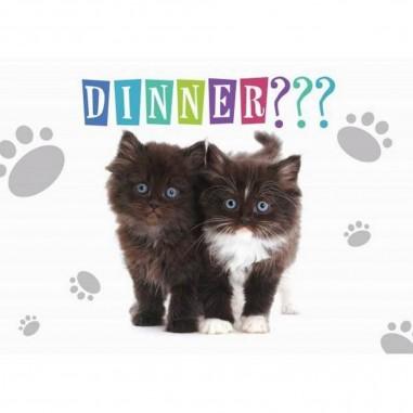 Placemat Kittens Dinner???