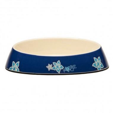 Rogz Bowlz Fishcake Blue Floral