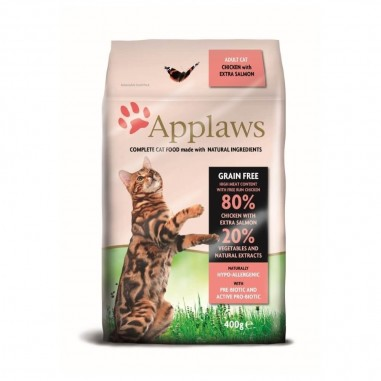 Applaws Kip & Zalm 400 gram