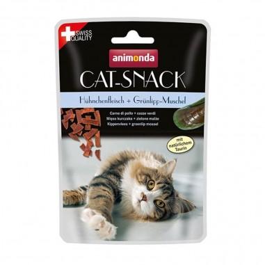 Animonda Cat-Snack Kippenvlees & Groenlip Mossel
