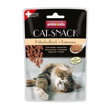 Animonda Cat-Snack Kippenvlees & Lijnzaad