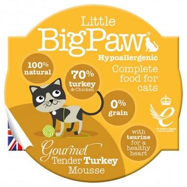 Little BigPaw Gourmet Tender Turkey Mousse 8 x 85g