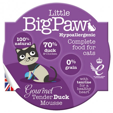Little BigPaw Gourmet Tender Duck Mousse 8 x 85g