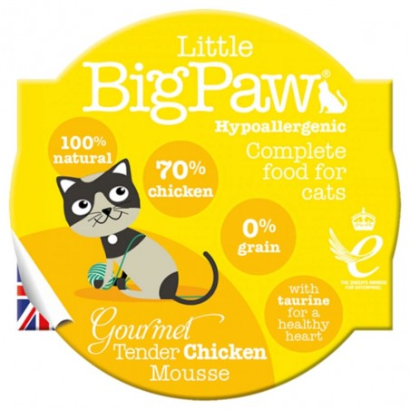 Little BigPaw Gourmet Tender Chicken Mousse 8 x 85g