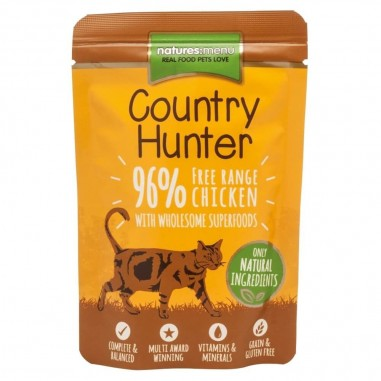 Natures Menu Country Hunter Pouch Kip 6 x 85g