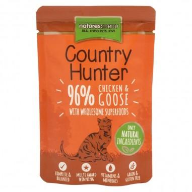 Natures Menu Country Hunter Pouch Kip & Gans 6 x 85g