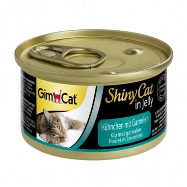 ShinyCat Kip met Garnalen 70 gram