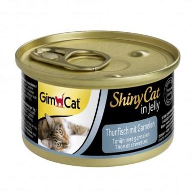 ShinyCat Tonijn met Garnalen 70 gram